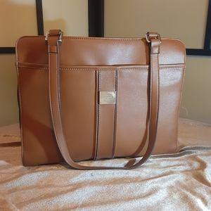 Vintage Liz Clayborn brown tote